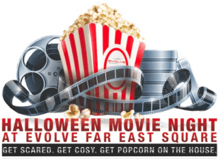 [25 Oct 2014] Evolve Halloween Movie Night!