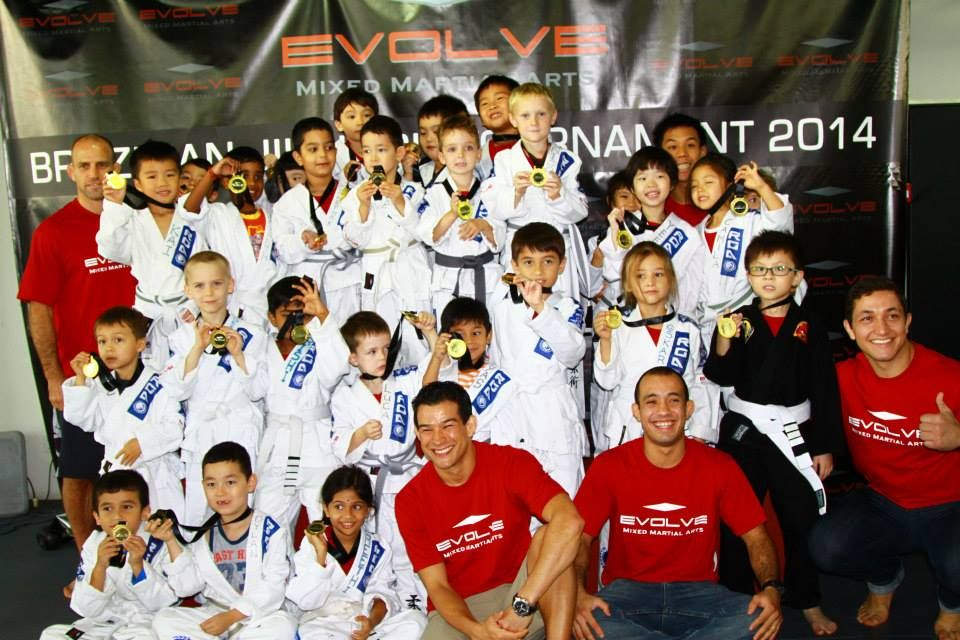 The Evolve MMA Kids BJJ Tournament 2015