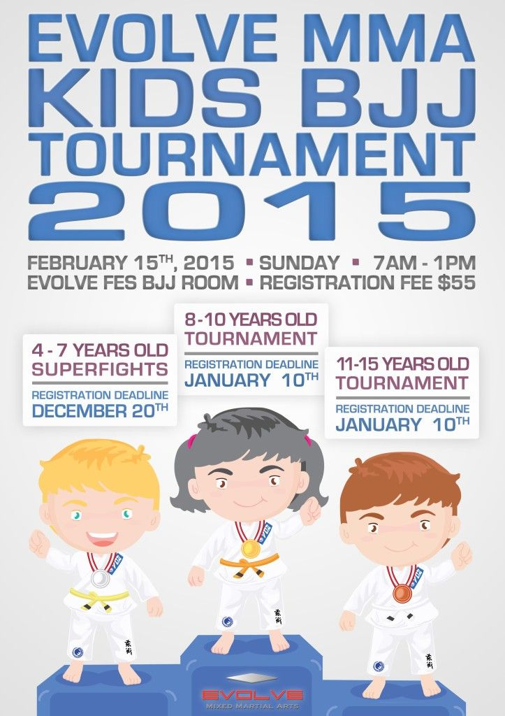 Kids BJJ Tournament 2015-2