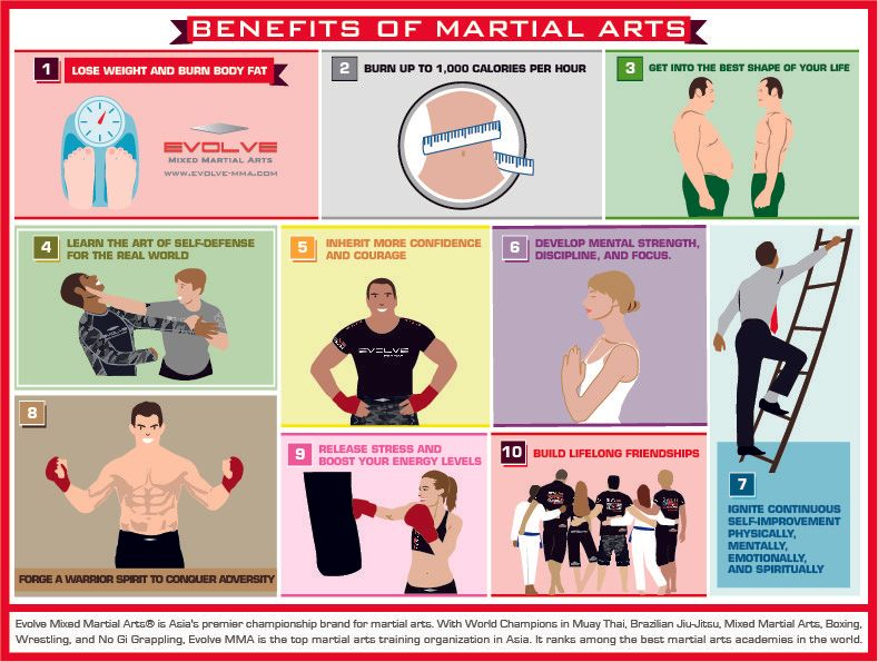 benefit of martial arts infographic 72dpi