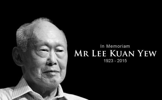 In Honor Of Mr Lee Kuan Yew
