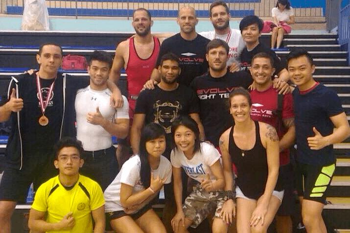 wrestling singapore