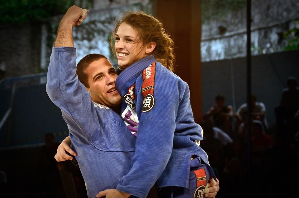 BJJ World Champion couple Augusto Tanquinho and Mackenzie Dern.