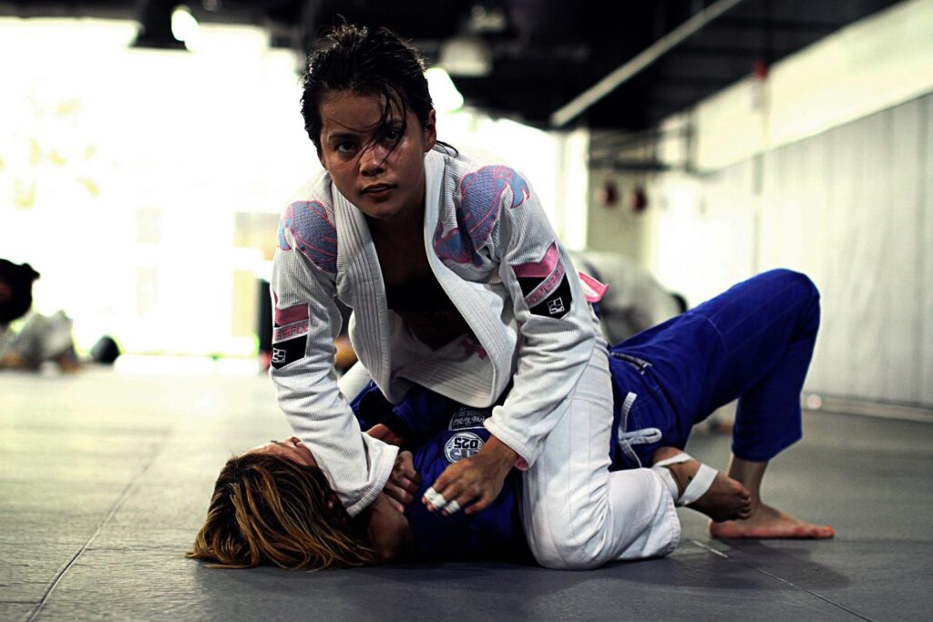 jana training bjj
