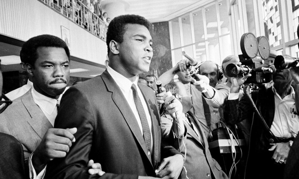 Muhammad Ali is widely regarded as one of the most celebrated sports figures of the 20th century.