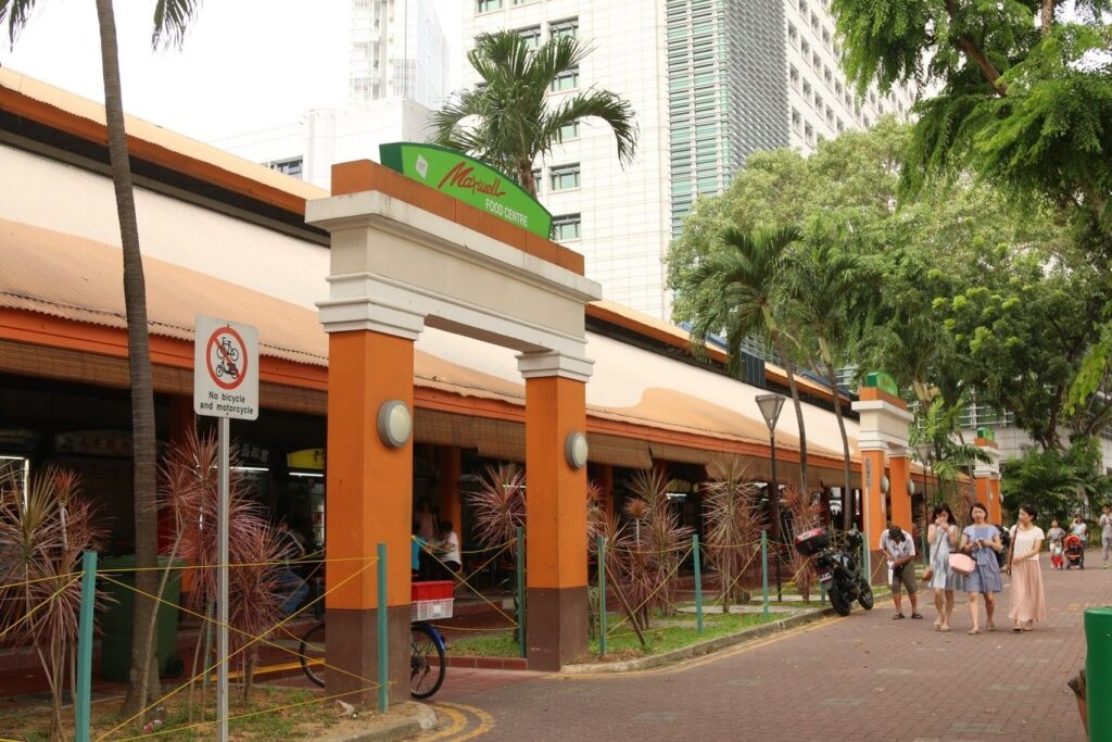 How To Get To Maxwell Food Centre