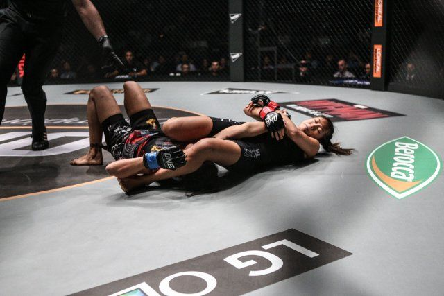 angela lee armbar