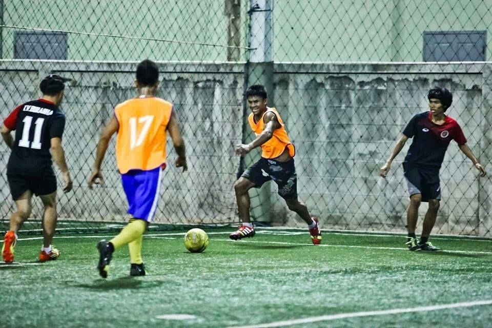 Buakaw-playing-soccer-football