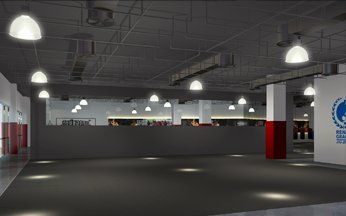 Evolve PoMo BJJ Training Room