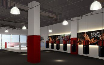 Evolve PoMo Muay Thai Training Room