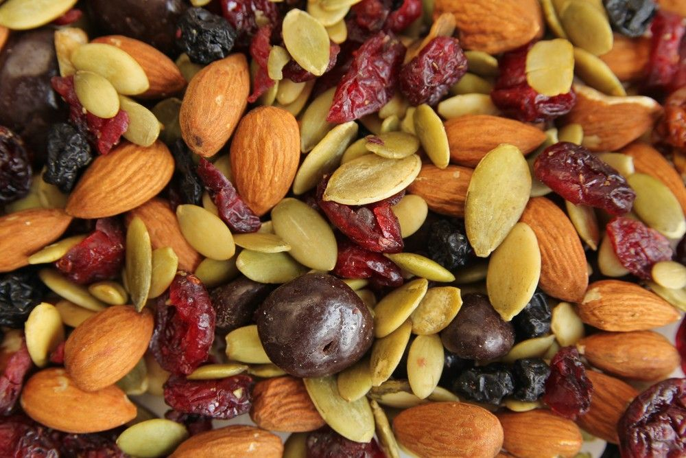 fruits nuts seeds