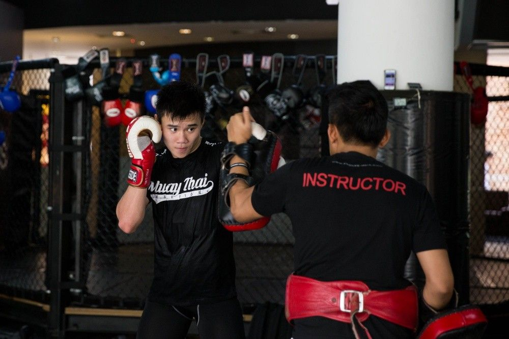 ONE Superstar Benedict Ang is one of the youngest members of the Evolve Fight Team.