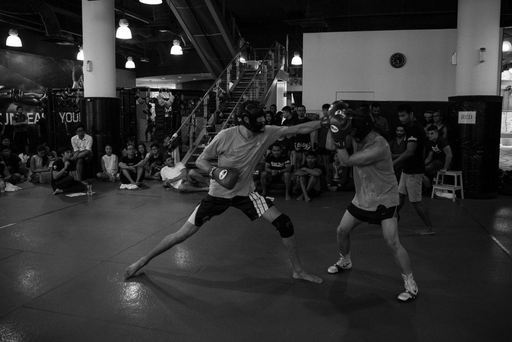 boxing tryouts
