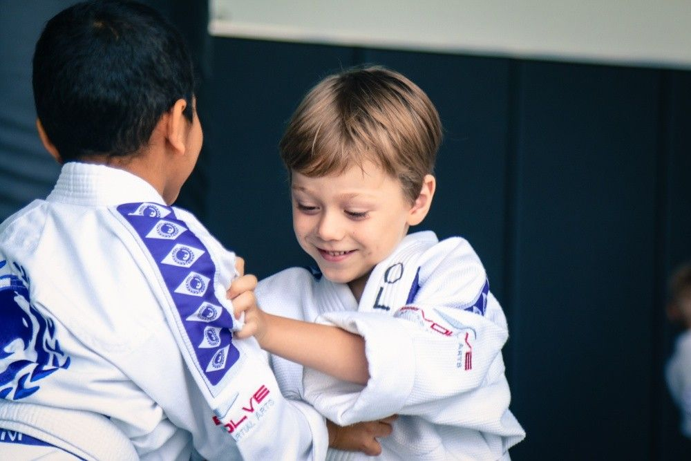 The Evolve MMA Little Samurai Program is lots of fun for the little ones.