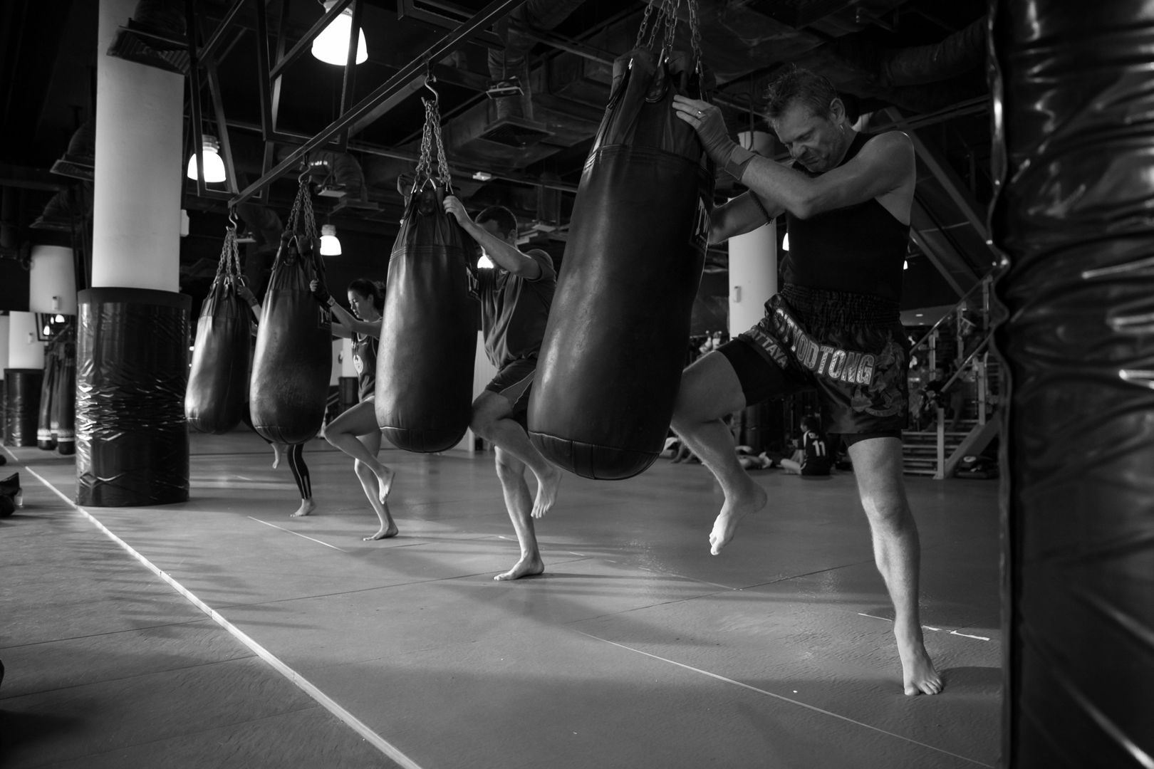 muay thai at evolve singapore