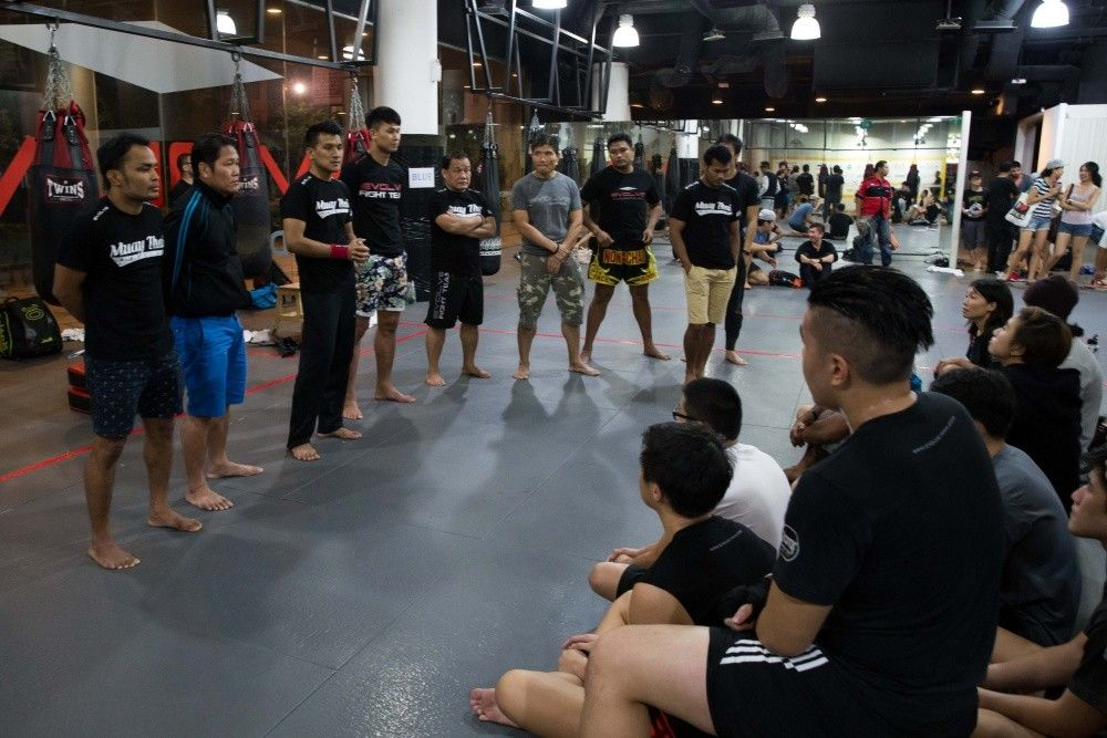 muay thai tryouts instructors