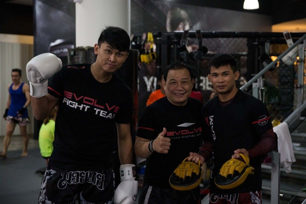 Muay Thai World Champions Chaowalith Jockey Gym, Daorung Sityodtong and Nong-O Kaiyanghadaogym are just some of the friendly faces you'll meet at Evolve MMA!