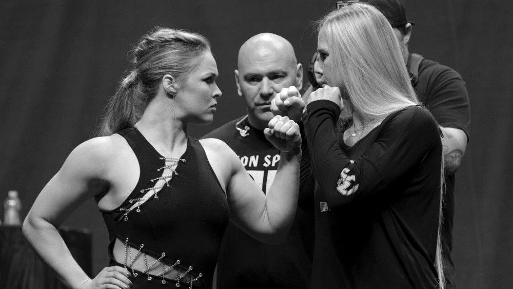 On Nov 15, UFC Women's Bantamweight World Champion Ronda Rousey defends her title against an undefeated Holly Holm at UFC 193.