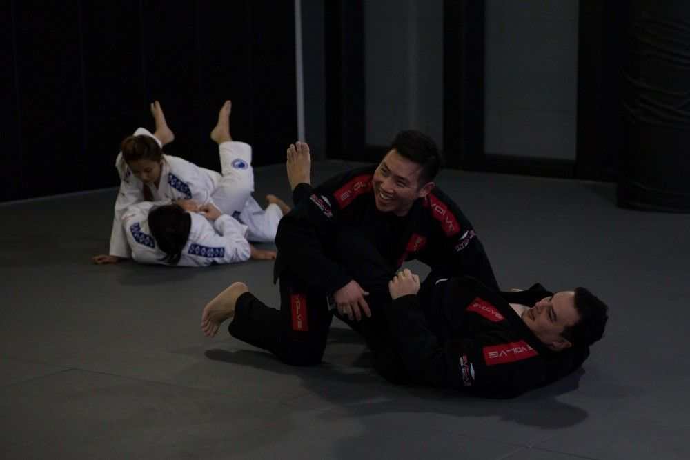 BJJ isn't all about learning techniques, it's about having fun too!