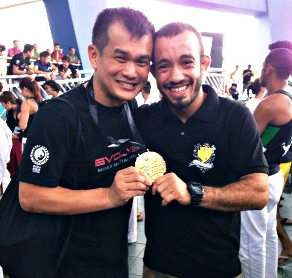 Zoyd takes home the gold at the Pan Asian BJJ Competition!