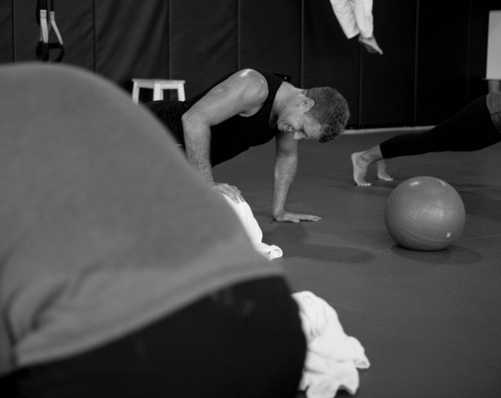 The WarriorFit class at Evolve MMA tests both your strength and endurance.