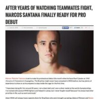 MMA Weekly – Jun'15