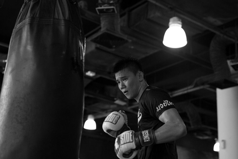 Catch Top Singaporean prospect and ONE Superstar Benedict Ang this Friday, Nov 13 in ONE Championship at the Singapore Indoor Stadium! WAR EVOLVE! <> Tickets: http:// sportshub.com.sg/ONE2015