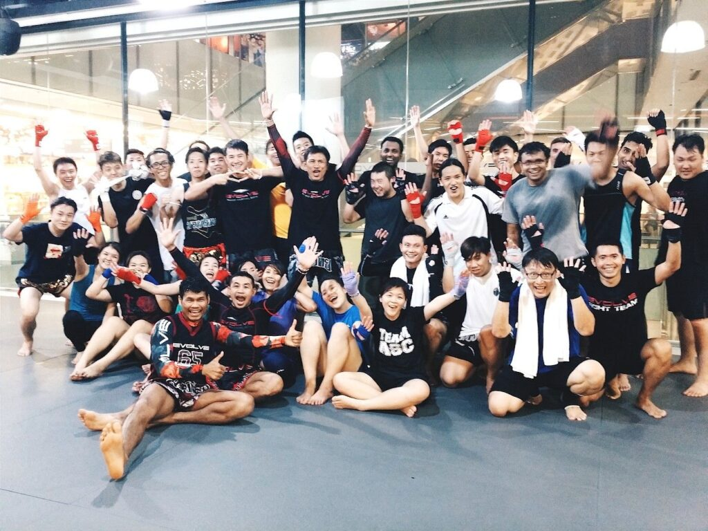 Muay Thai in Evolve Orchard Central