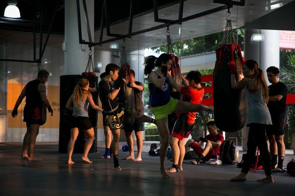 Evolve MMA is the only academy in Singapore that teaches authentic Muay Thai.