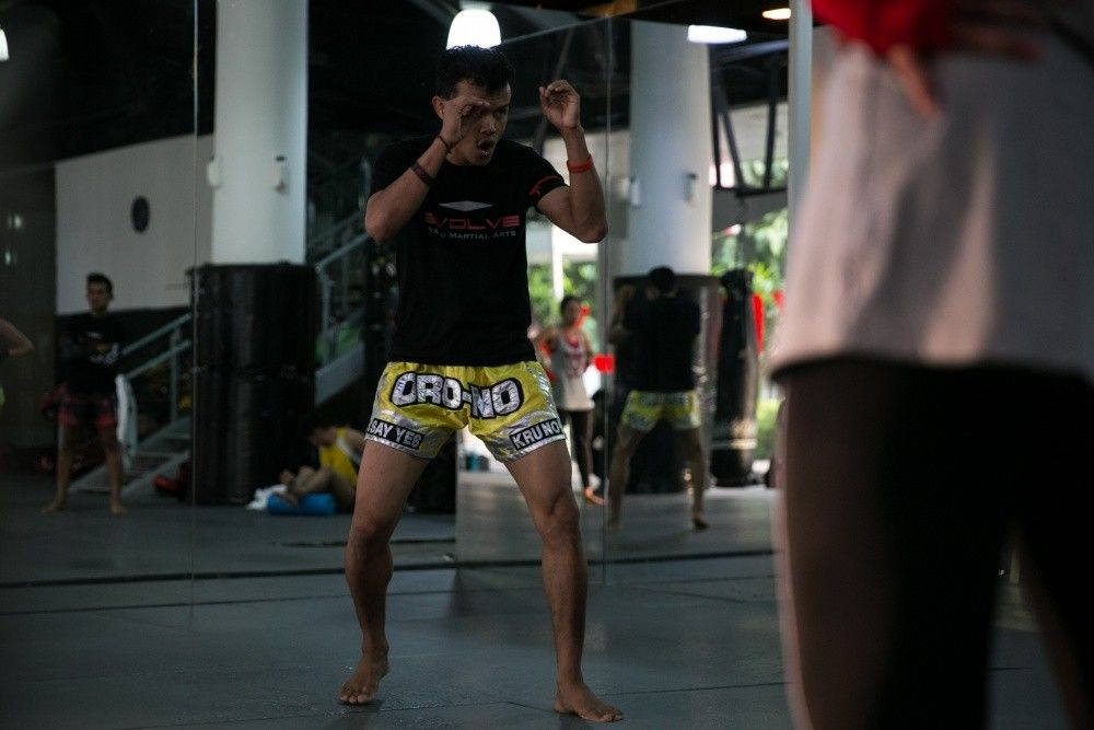A Muay Thai class taught by multiple-time Muay Thai World Champion Orono Wor Petchpun is never dull!