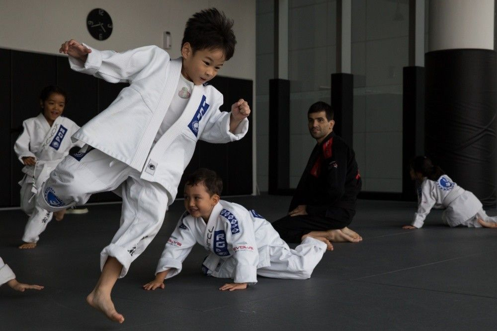 Bully-proof your child by letting them learn self defense.