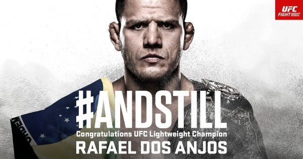 7 Life Lessons We Can Learn From UFC Lightweight World Champion Rafael Dos Anjos
