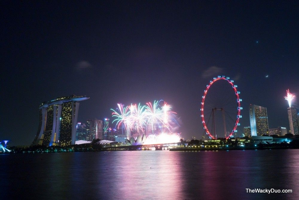 Garden By The Bay Fireworks 5 best places to catch new year fireworks in singapore - evolve daily