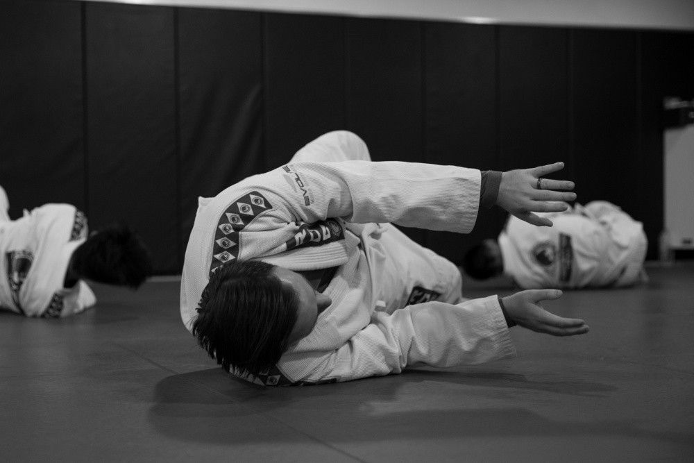 Every BJJ class starts off with a 15 minute warm-up.