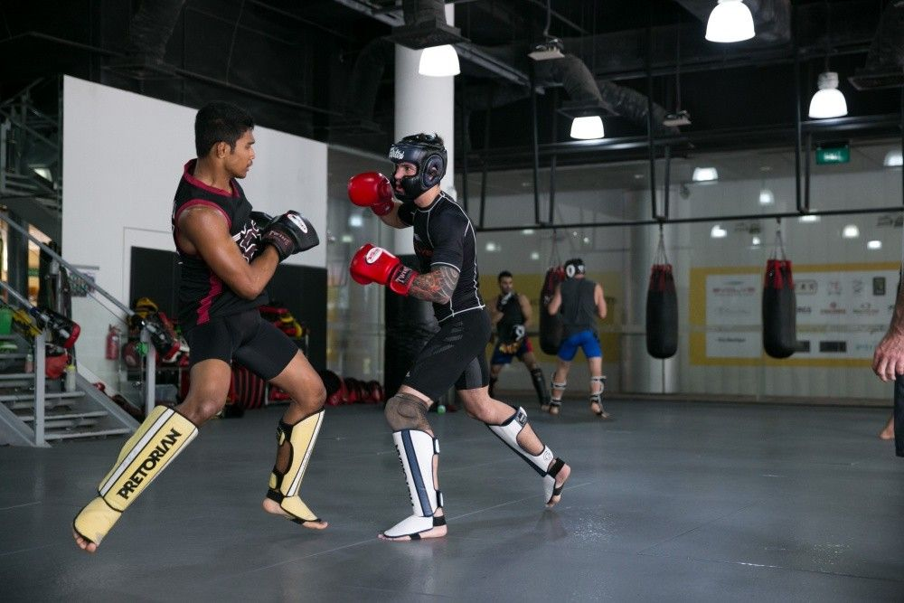 Sparring is a great way to sharpen your skills.