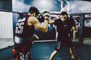 RDA trains Muay Thai at Evolve MMA