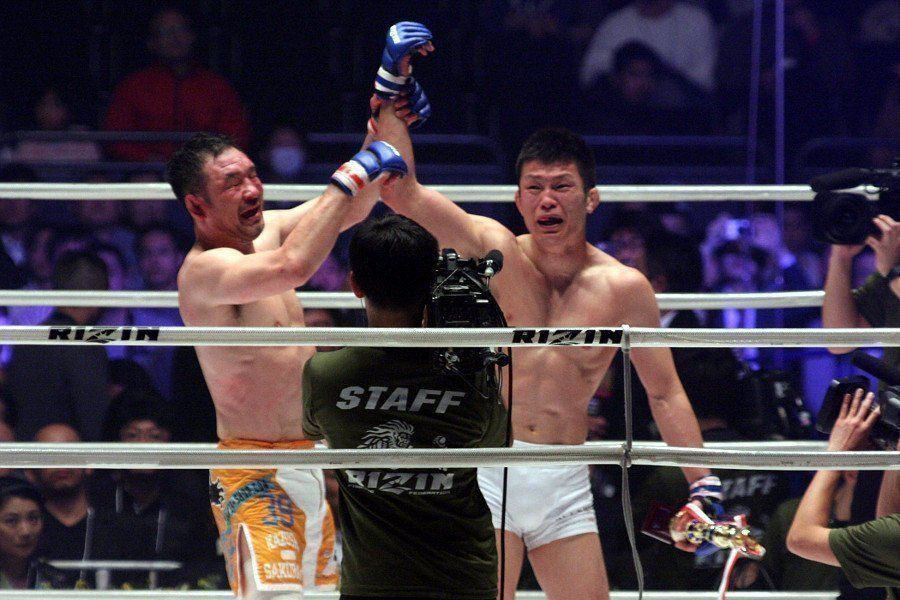 MMA legend Kasushi Sakruaba and ONE Lightweight World Champion Shinya Aoki are true inspirations for any MMA fighter.