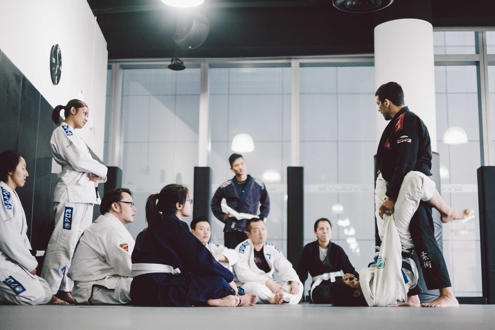 There's never a dull moment in BJJ, with the many different techniques to learn.