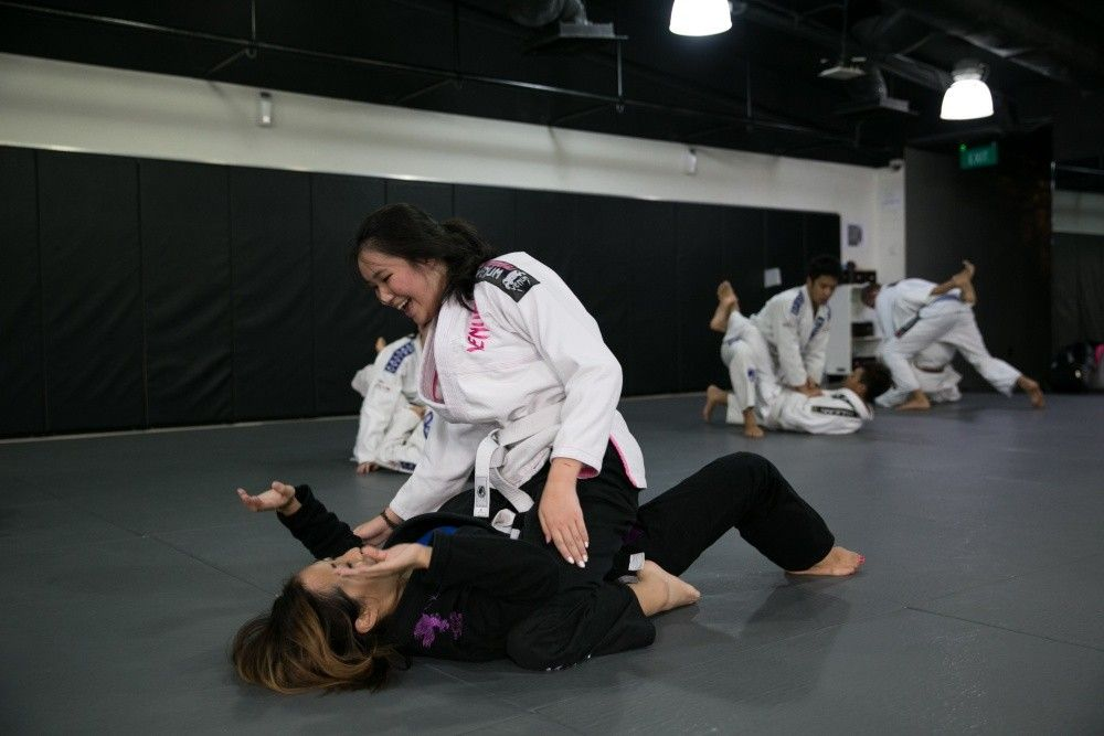 BJJ lets you acquire the necessary self-defense skills for real life situations.