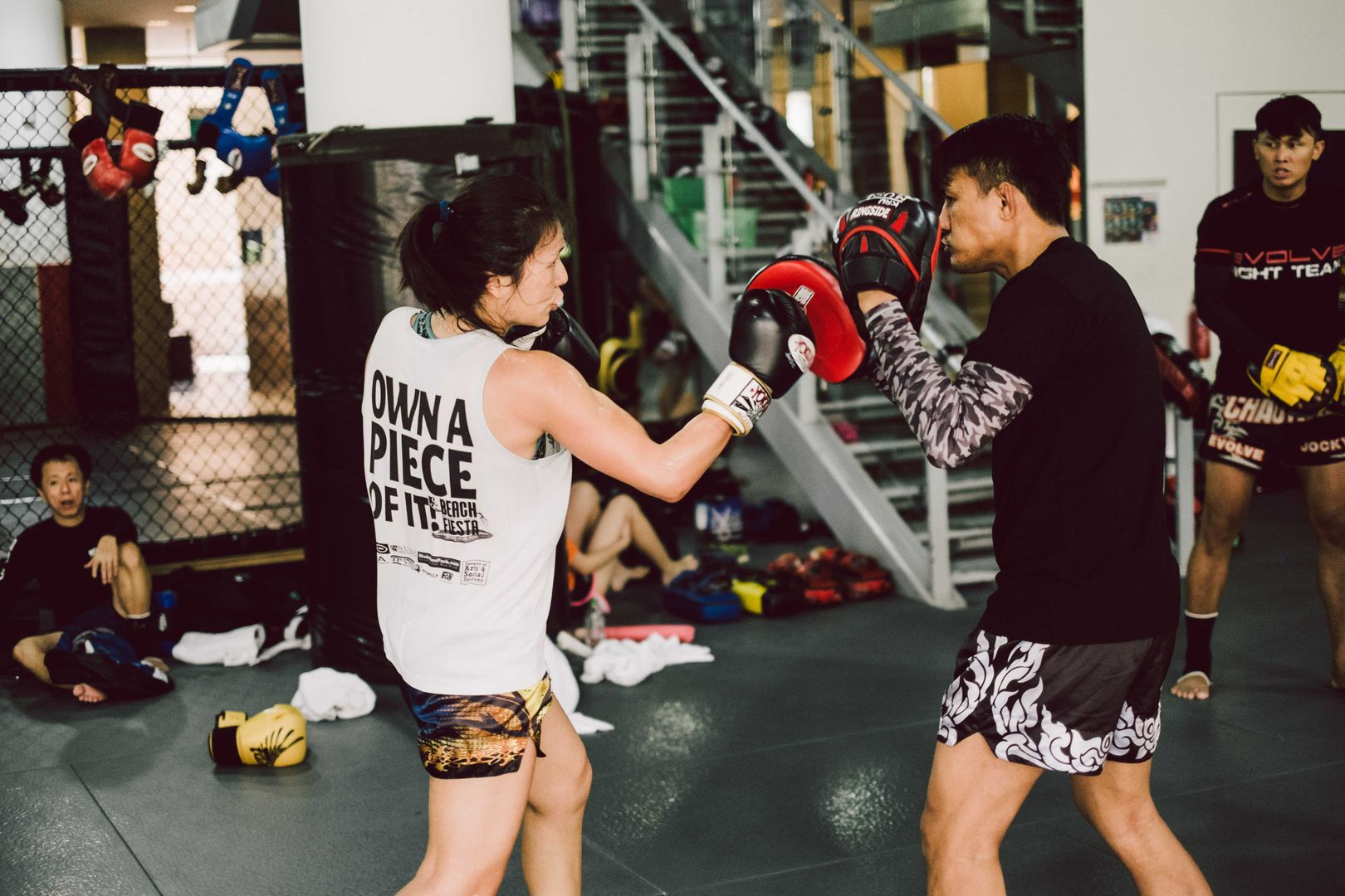muay thai at Evolve Far East Square