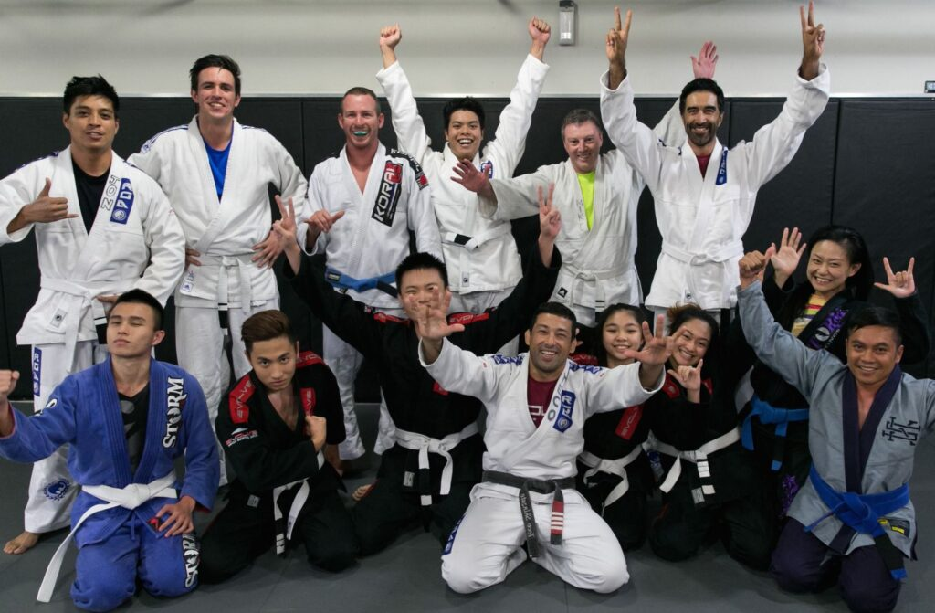 Evolve BJJ Students