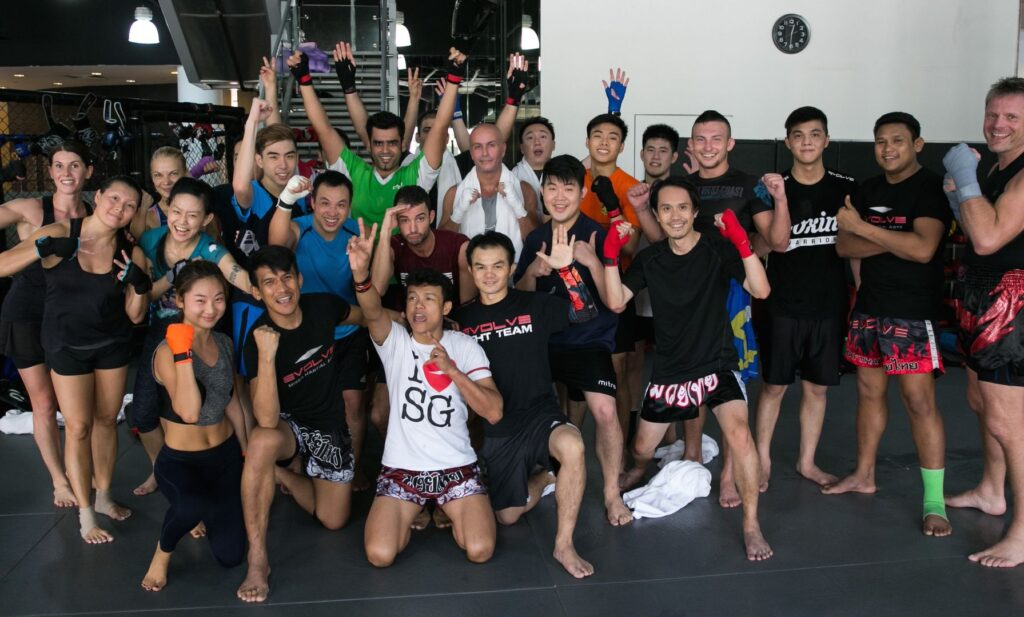 There's never a dull moment in a Muay Thai class, with all the different techniques to learn and master!