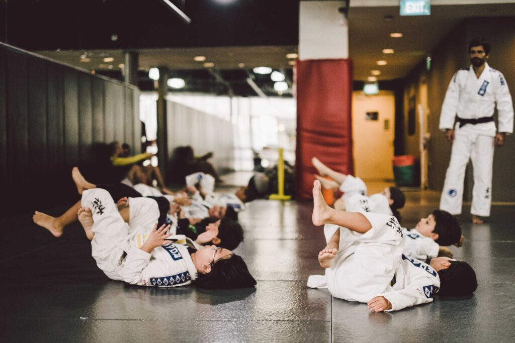 BJJ fosters self-discipline in your kids.