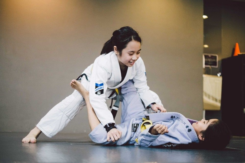 Martial arts is a great way to boost your child's confidence.