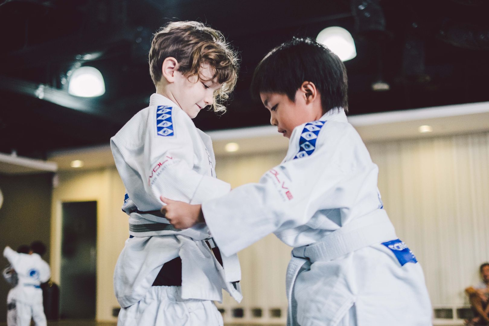 Keep your kids active by letting them train BJJ.