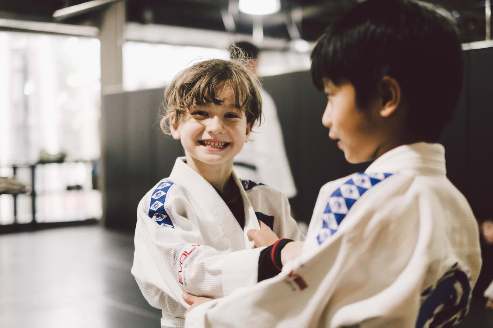 Martial arts boosts endorphins, so your kids would feel great after every class!