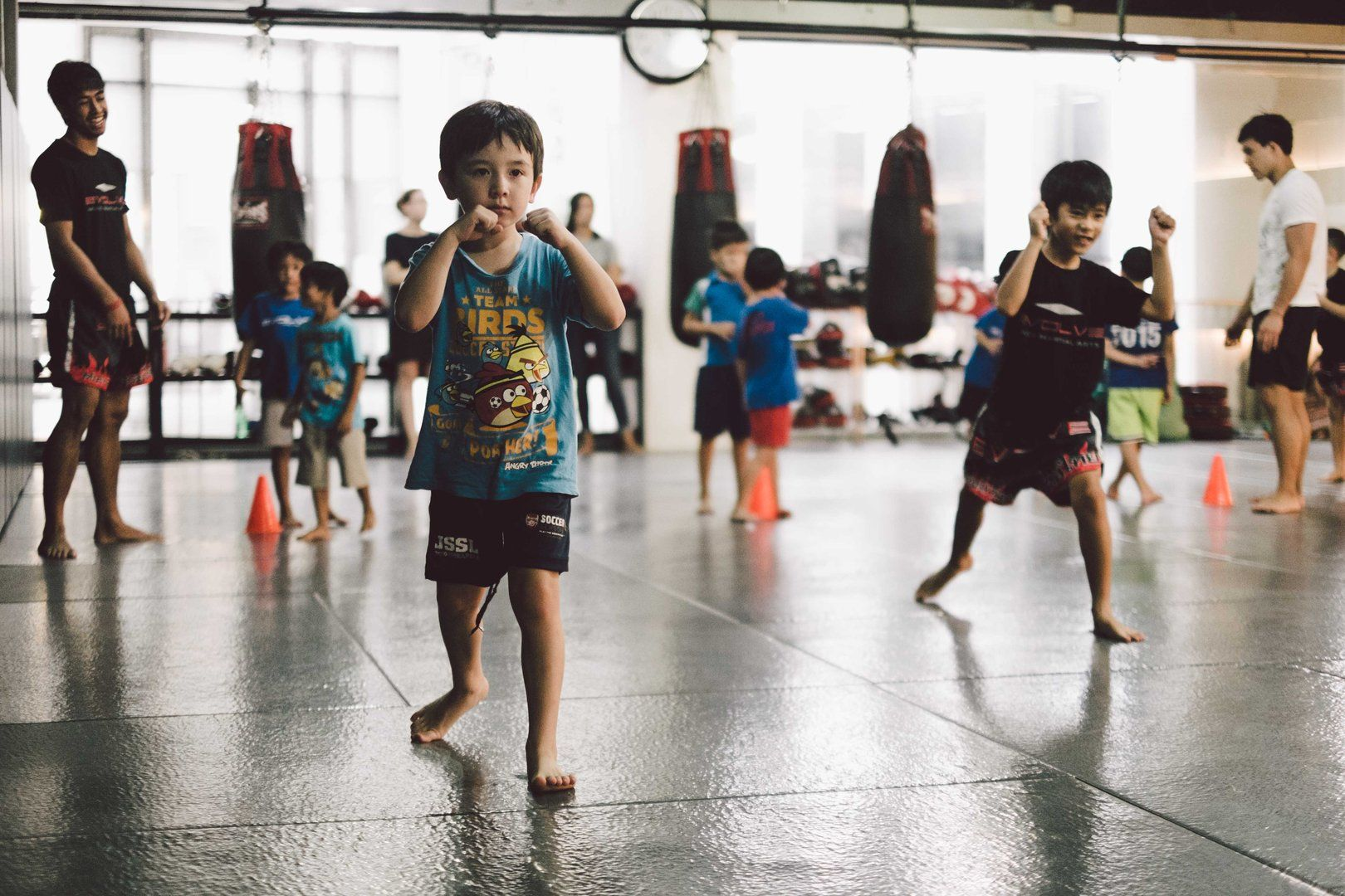 Kick-start a happy, healthy lifestyle for your kids by letting them train Muay Thai.