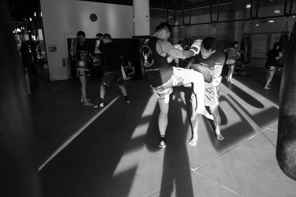 The knee is a fundamental move that every Muay Thai student must master.