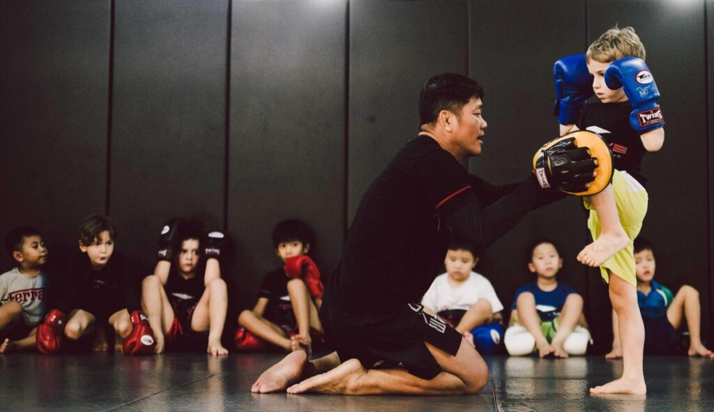 martial arts for kids in singapore