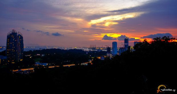mount-faber-sunset